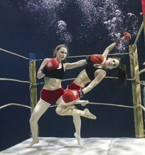 Underwater Boxing