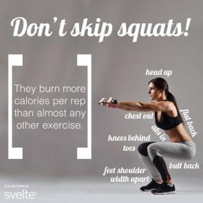don't skip squats