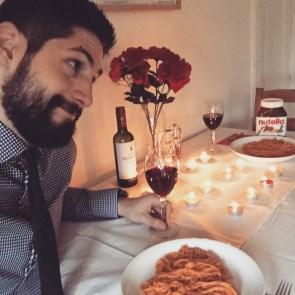 Single guy Valentine's Day