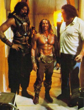 Arnold Looking Small