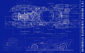 Batmobile Returns Blueprints