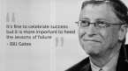 Bill Gates was a failure
