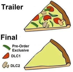 Game Trailer vs Release