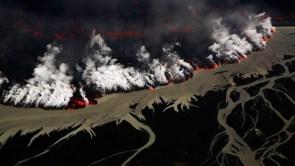 Holuhraun volcanic eruption  Iceland