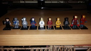 Iron man mini figs