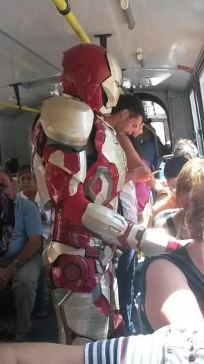 Iron man on the sub