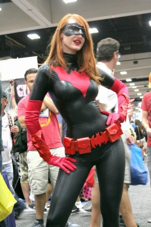 Kendra James as Batwoman