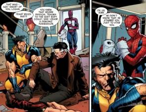 Logan stabs