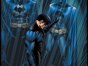Nightwing is sad