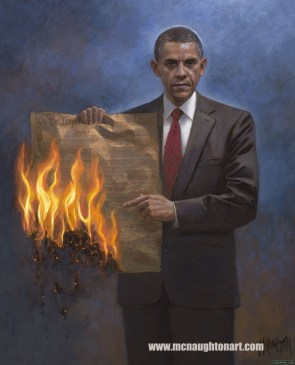 Obama's view of the constitution