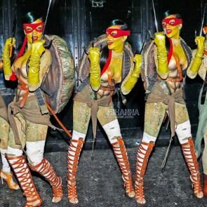 Rihanna as Raphael TMNT