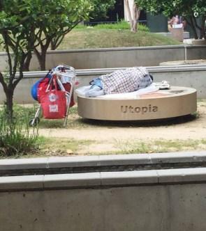 Sleeping on utopia