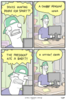 The Internet in a comic