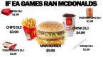 if EA ran McDonalds