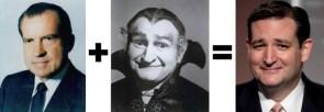 nixon plus vampire equals cruz