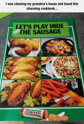 play hide the sausage