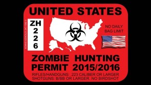 American Zombie Hunting Permit
