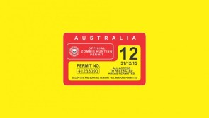 Australian Zombie Hunting Permit