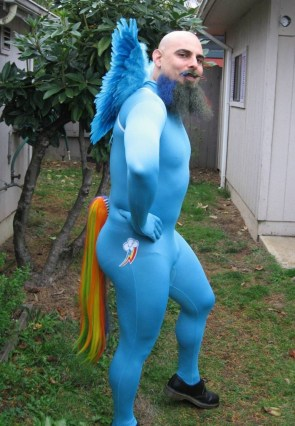 Bearded MLP Cosplay