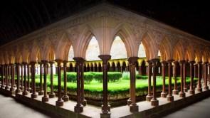 Cloister of Mont Saint-Michel Abbey Monkey Business Images