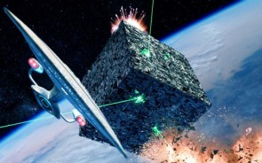 Enterprise vs borg cube
