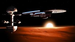 Excelsior over mars
