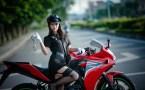 Garters and Bike