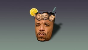 Ice-T with Ice cubes