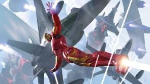 Iron Man vs fighter jets