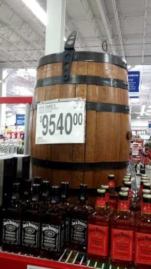 Jack Daniels Barrel