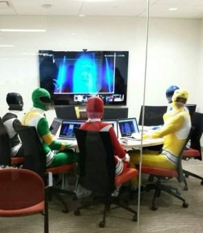 Power Ranger Meeting