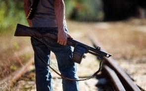 Shot gun with ammo drum