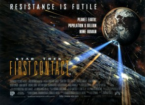 Star Trek First Contact – Movie Poster Wallpaper