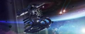 Transverse Space Station