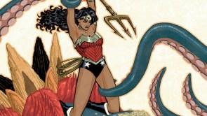 Wonder Woman vs Tentacle