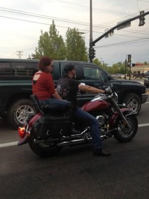 long leg motorcycle