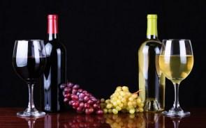 red wine white wine