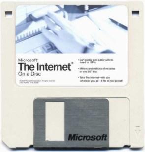 Internet on a disc