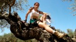 Colorful Tomb Raider Cosplayer