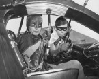 Batman and Robin Classic Car Seater