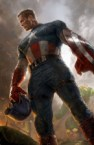 Captain America took off his helmet