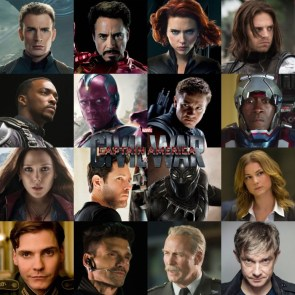 Civil War Cast