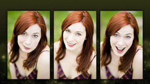 Felicia Day makes faces