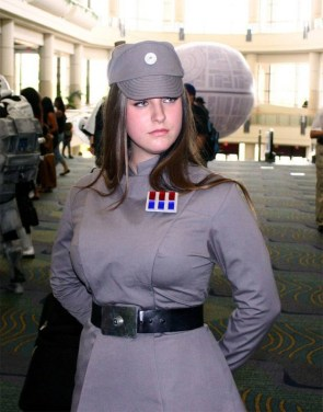 Female Imperial Cosplay