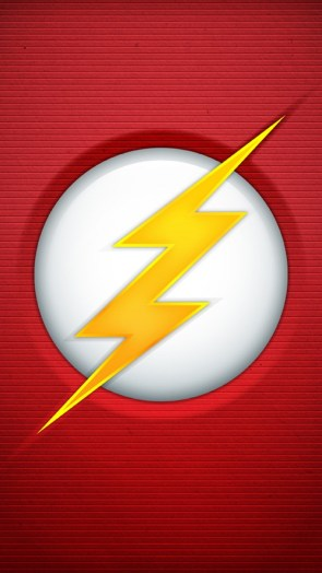 Flash Logo lock screen