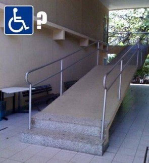 Handicapable Ramp