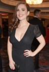Hayley Atwell – See Through Dress