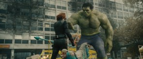 Hulk and Black Widow having a moment