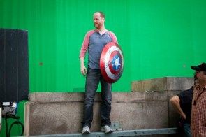 Joss with Shield