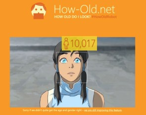Legend of Korra – Age
